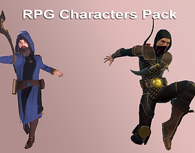 RPG Characters Pack 3D