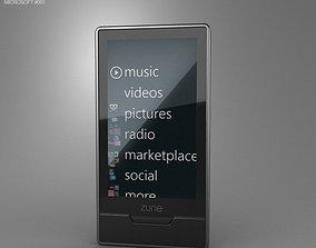 3D asset Microsoft Zune HD 16 GB