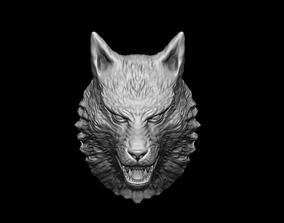 Wolf Head zbrush 3D printable model