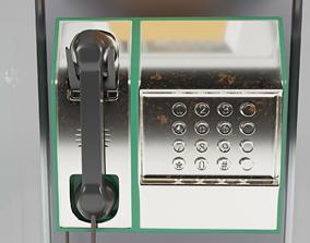 3D Public Phone Booth