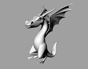 paint 3D printable model Dragon