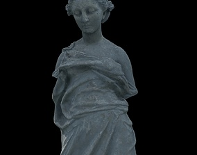 various 3D Statue of a nymph girl without arms