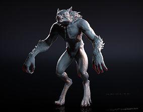 Werewolf Zbrush Sculpt 3D