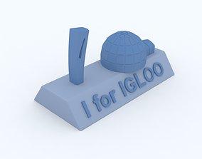 3d I for Igloo Model