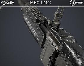 M60 Light Machine Gun 3D model