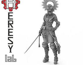 3D print model Heresylab - Iron Lady