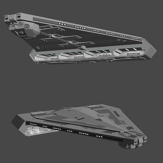 Quasar Fire Cruiser Carrier - Star Wars