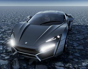 3D asset Lycan Hypersport