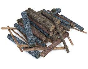 3D model Wood Log 3