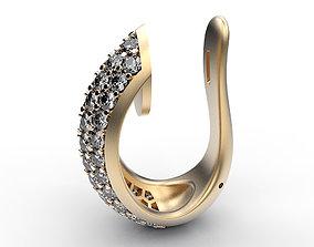 3D printable model Earrings Edge fashion