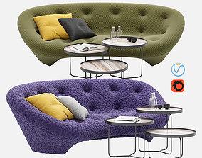 furniture Ploum sofa 3D model