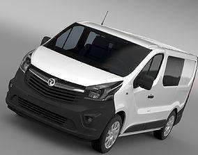 Vauxhall Vivaro MultiVan EcoFlex 2017 3D model