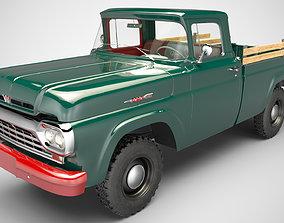 3D model Ford F 100 4x4