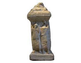 3D asset ASSYRIAN ALTAR INCENSE PYRE