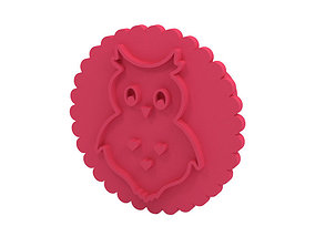 3D print model cake Cookie stamp - Stamp