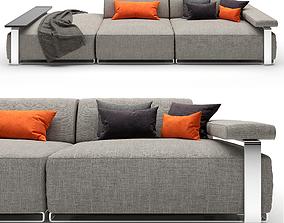 Sofa Cannes 3D model