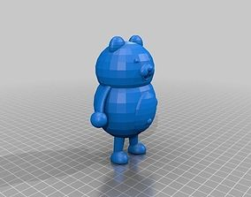 Monokuma 3D printable model