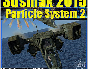 animated 3ds max 2015 Particle System 2 volume 38 cd