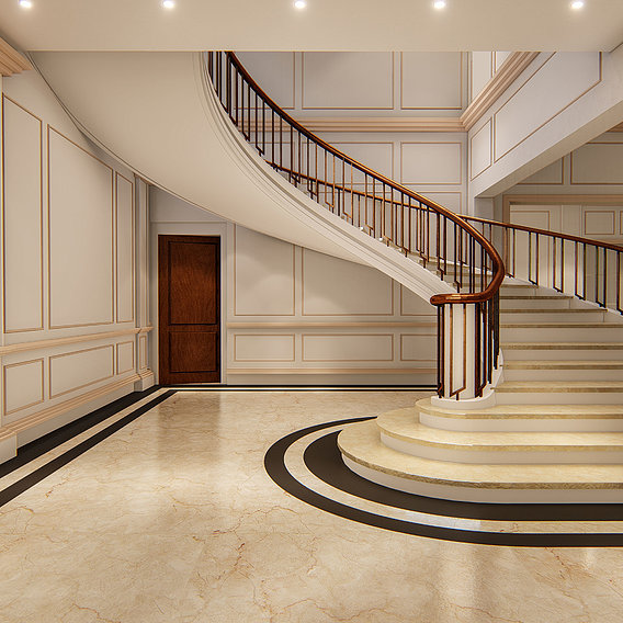 Stair case design and render in Lumion 8.5 pro