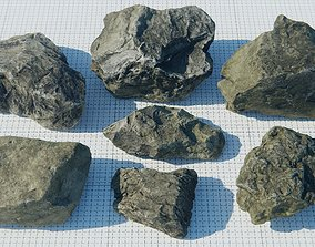 3D asset Rock Pack Vol 2 Free