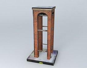 3D church Bell tower