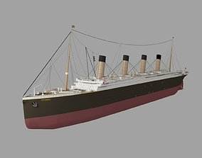 titanic new 3D model