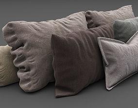 Pillows collection 3D