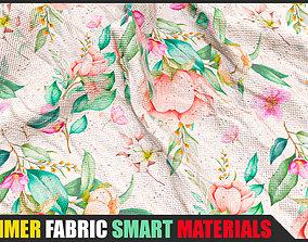 11 Summer Fabric Smart Materials for Substance Painter 3D