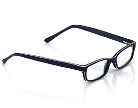3D print model isolated Eyeglasses for Men and Women