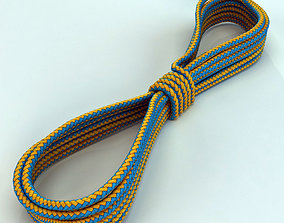 rope for climbing 3D