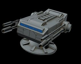 3D Turbolaser canon 1