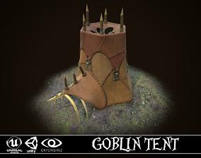 Goblin tent 3D asset