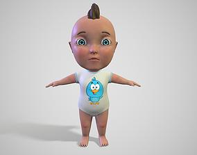 3D Cartoon Baby