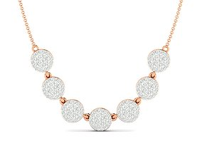 jewellery necklaces Women necklace 3dm stl render detail