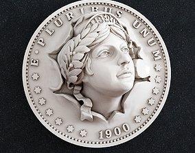 coins-badges 3D printable model coin money