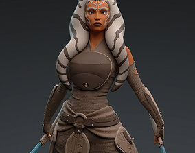 Ahsoka Tano StarWars 3D printable model