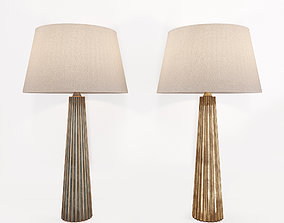 3D model Fluted Spire Large Table Lamp