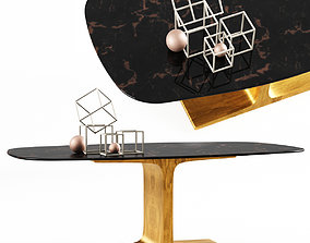 3D Sovet Italia Table Palace Shaped