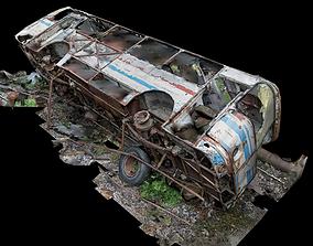 bus Wreck 3D model