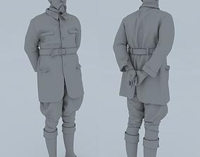 Tomas Garique Masaryk - 3D Print figure
