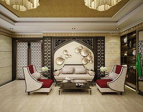 Lobby Embassy 2 furniture 3D model