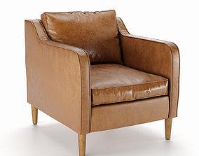 3D model Hamilton Leather Chair