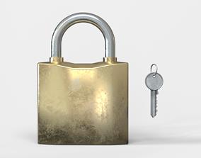3D asset Lock and key