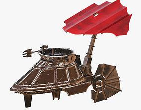 Star Wars Sail Skiff 3D model