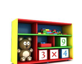 Child Room Closet 3D asset