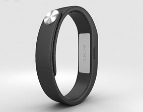 3D model Sony Smart Band SWR10 Black