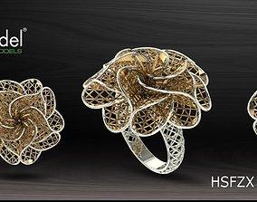 3D printable model Electro-Fusion Fashion Ring