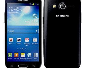 andriod Samsung Galaxy Core Lte Black 3D