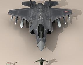 3D model F35A - Italian Air Force