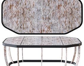 3D model Ethimo SWING Side table